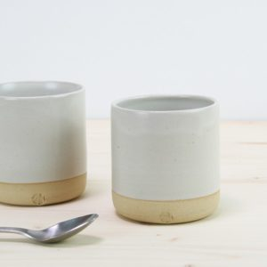 tasse ceramique blanche