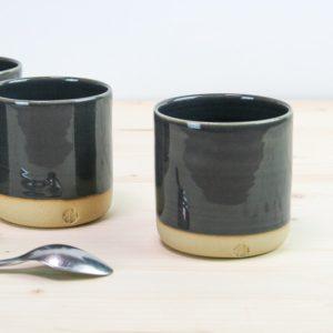 tasse céramique gris